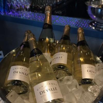 Champagnerflaschen